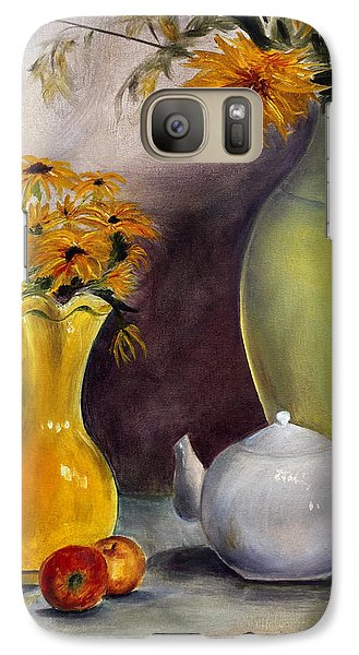 Galaxy Case featuring the painting Reliable Loyalty by Jane Autry