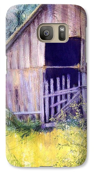 Galaxy Case featuring the painting Relic by Mary Lynne Powers