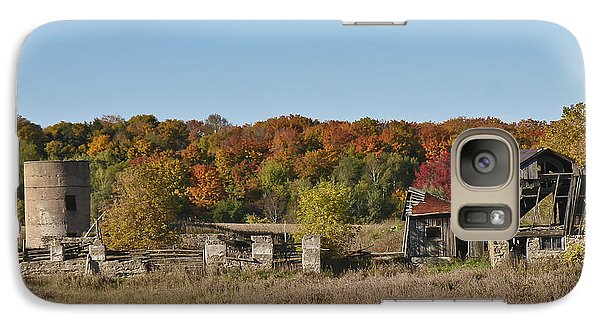 Galaxy Case featuring the photograph Relics Of The Past by Gary Hall