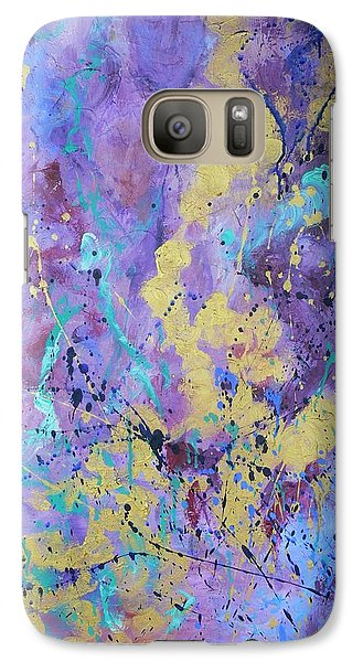 Galaxy Case featuring the painting Reliving The Past by Catherine Hamill