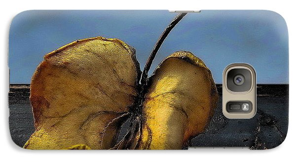 Galaxy Case featuring the photograph What's Left Over... by Marija Djedovic