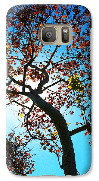Galaxy Case featuring the photograph Remains Of The Summer by Richard Stephen