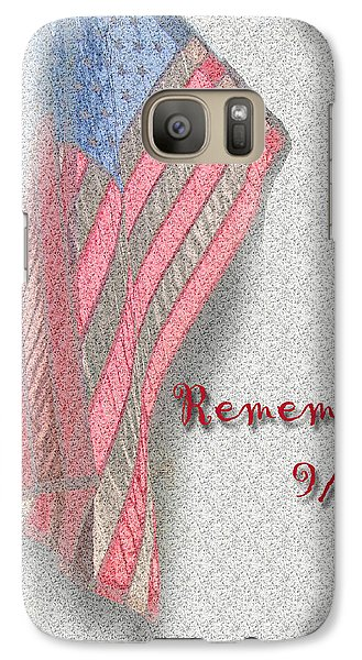 Galaxy Case featuring the photograph Remember 9-11 by Larry Bishop