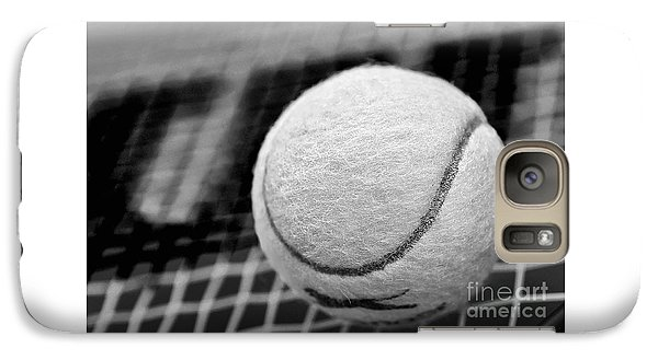 Remember The White Tennis Ball Galaxy S7 Case by Kaye Menner