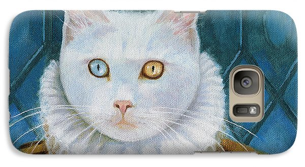 Galaxy Case featuring the painting Renaissance Cat by Terry Webb Harshman