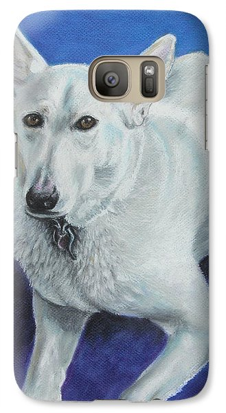 Galaxy Case featuring the painting Reno by Jeanne Fischer