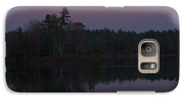 Galaxy Case featuring the photograph Replacing The Sunset II by Alice Mainville