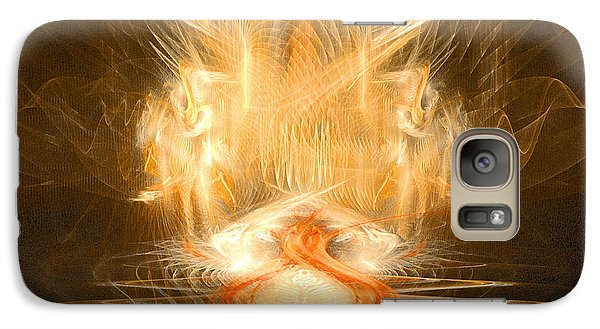 Galaxy Case featuring the digital art Reptile Heaven - The Lizard Afterlife  by R Thomas Brass