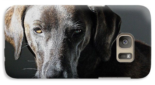 Galaxy Case featuring the photograph Rescue Dog - Osa by Peggy Collins