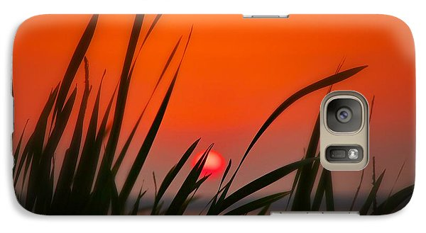 Galaxy Case featuring the photograph Reservoir Sunset by Jim Albritton