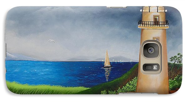 Galaxy Case featuring the painting Resilient by Nereida Rodriguez