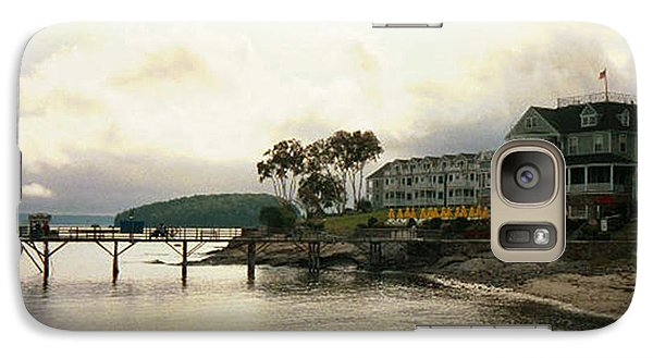 Galaxy Case featuring the photograph Resort In Bar Harbor by Judith Morris