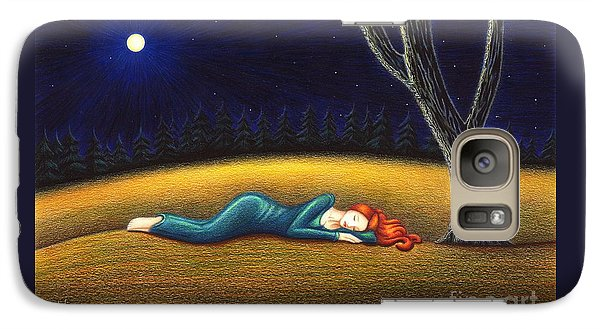 Galaxy Case featuring the drawing Rest For A Weary Heart by Danielle R T Haney