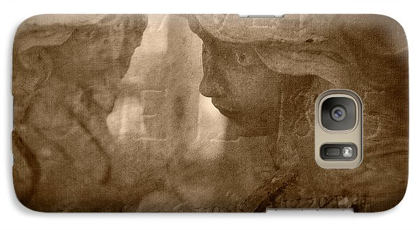 Galaxy Case featuring the photograph Rest In Peace by Marianne Jensen