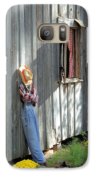 Galaxy Case featuring the photograph Resting by Gordon Elwell