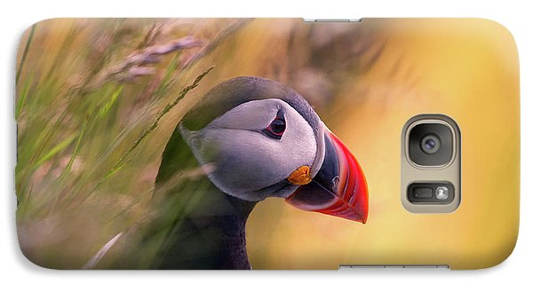 Puffin Galaxy S7 Case - Resting Puffin by Bj?rn A Hveding