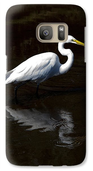 Galaxy Case featuring the photograph Resting Reflection by Paula Porterfield-Izzo