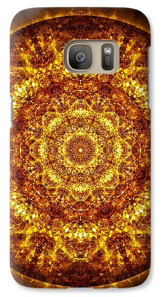 Galaxy Case featuring the digital art Restoring Clarity by Jalai Lama
