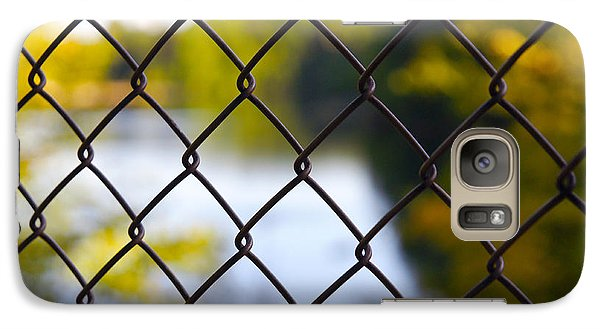 Galaxy Case featuring the photograph Restricted Access by Michelle Joseph-Long