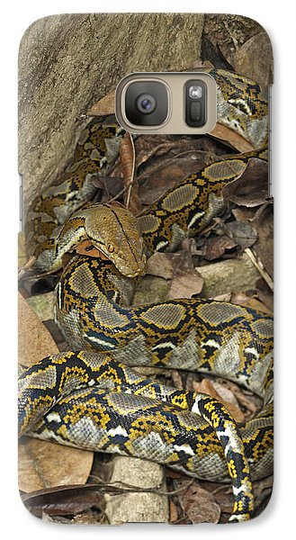 Reticulated Python Galaxy S7 Case