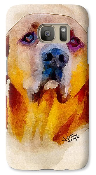 Galaxy Case featuring the painting Retriever by Greg Collins
