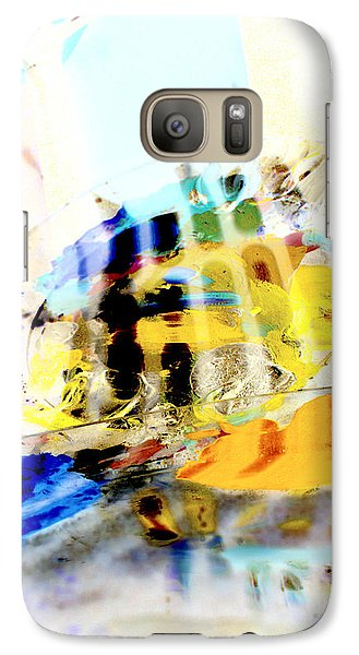 Galaxy Case featuring the digital art Retro Reflections by Christine Ricker Brandt