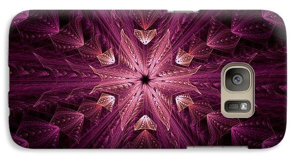 Galaxy Case featuring the digital art Returning Home by GJ Blackman