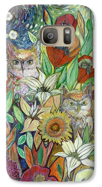 Tulip Galaxy S7 Case - Returning Home To Roost by Jennifer Lommers
