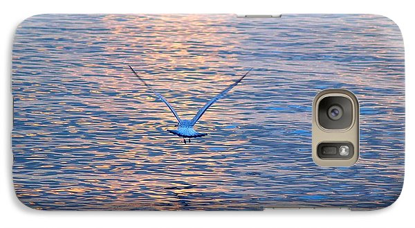 Galaxy Case featuring the photograph Returning  by Susan  Dimitrakopoulos