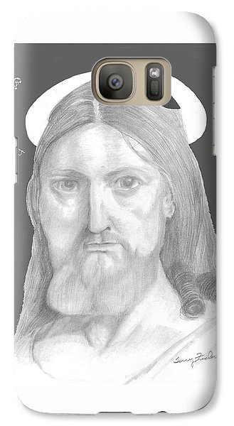 Galaxy Case featuring the drawing Revelations by Terry Frederick