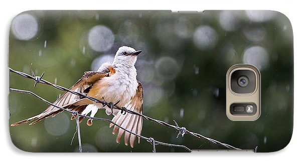 Revelling In The Rain Galaxy S7 Case by Annette Hugen