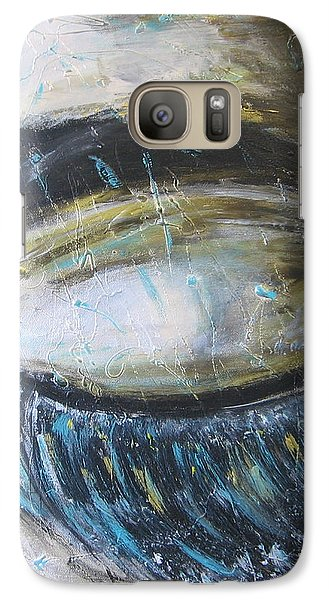 Galaxy Case featuring the painting Rever En Couleurs by Lucy Matta