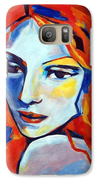 Galaxy Case featuring the painting Reverie by Helena Wierzbicki
