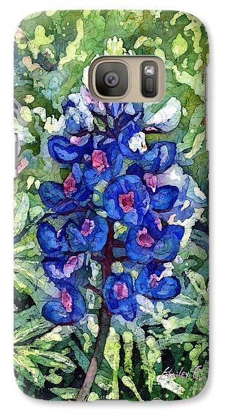 Pasture Galaxy S7 Case - Rhapsody In Blue by Hailey E Herrera