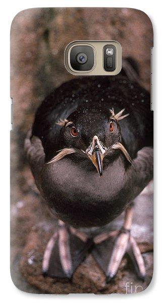 Rhinoceros Auklet Galaxy S7 Case