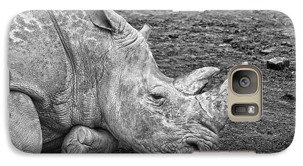 Rhinoceros Galaxy S7 Case by Nancy Aurand-Humpf