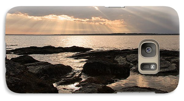 Galaxy Case featuring the photograph Rhode Island Sunset by Brooke T Ryan