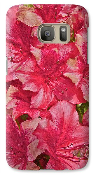 Galaxy Case featuring the photograph Rhododendron Closeup by Todd Kreuter