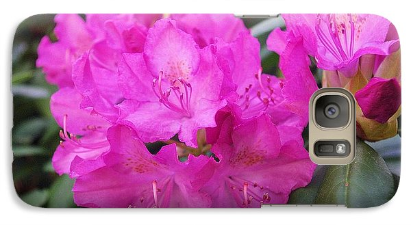 Galaxy Case featuring the photograph Rhododendron by David Rizzo