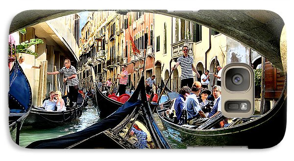Galaxy Case featuring the photograph Rhythm Of Venice by Jennie Breeze
