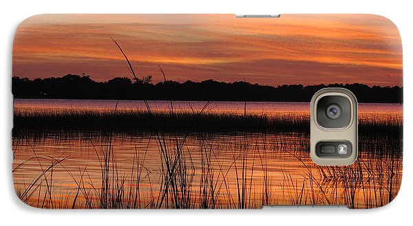 Galaxy Case featuring the photograph Ribbon Reflections by Joetta Beauford