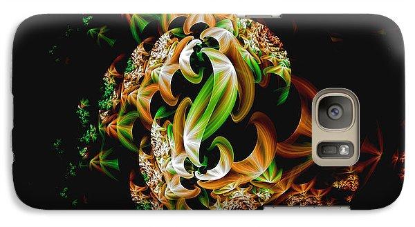 Galaxy Case featuring the digital art Ribbons by Lea Wiggins