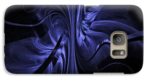 Galaxy Case featuring the digital art Ribbons Of Time by GJ Blackman