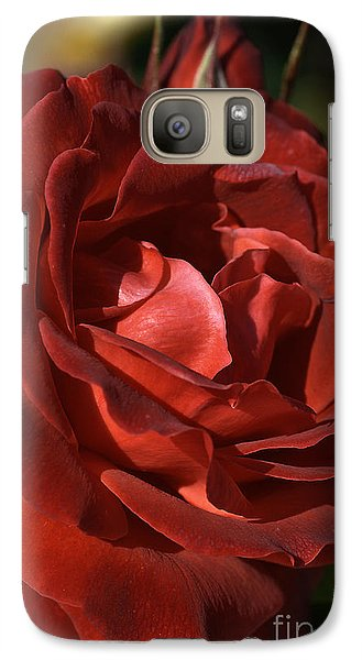 Galaxy Case featuring the photograph Rich Is Rose by Joy Watson