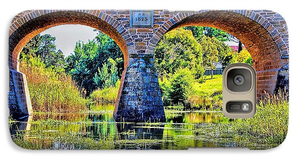 Galaxy Case featuring the photograph Richmond Bridge by Wallaroo Images