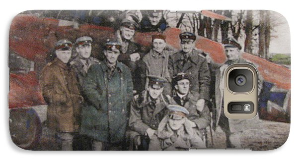 Galaxy Case featuring the painting Richthofen And His Flying Circus by Vikram Singh