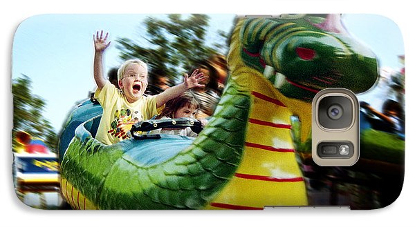 Galaxy Case featuring the photograph Ride by Tom Brickhouse