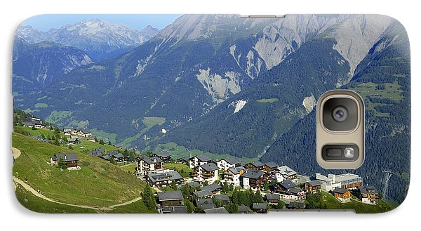 Riederalp Valais Swiss Alps Switzerland Galaxy S7 Case by Matthias Hauser