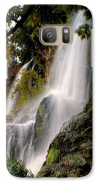 Galaxy Case featuring the photograph Rifle Falls by Priscilla Burgers