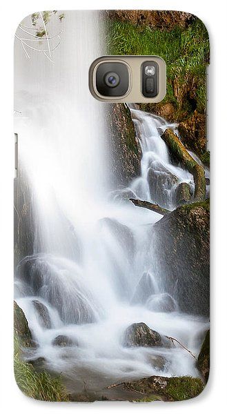Galaxy Case featuring the photograph Rifle Falls by Steven Reed